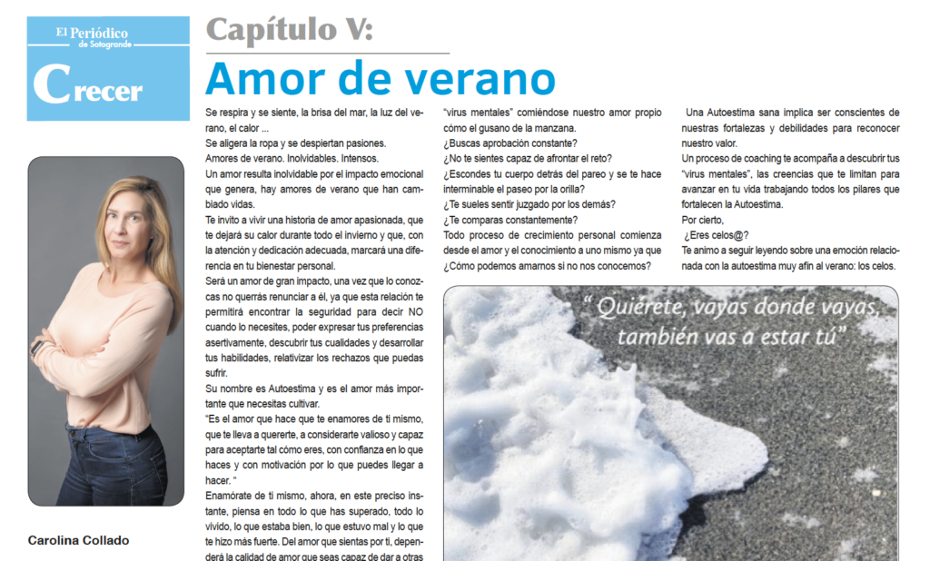 Amor de verano por Carolina Collado en el Periódico de Sotogrande